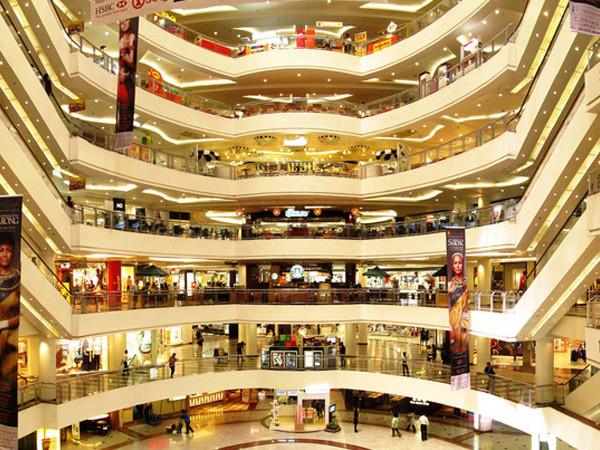 Ремонт магазинов в торговом центре